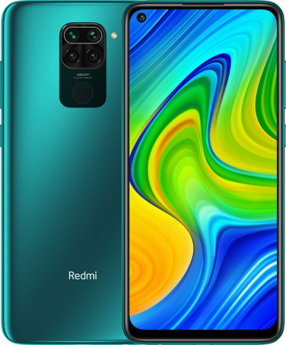 купить Xiaomi Redmi Note 9 128Gb Green в Барнауле и Горно-Алтайске фото 3