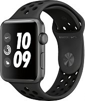 купить Apple Watch Series 3 42mm Case Space Grey Aluminium Nike Sport Band Anthracite/Black в Барнауле и Горно-Алтайске