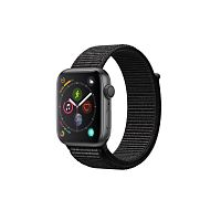 купить Apple Watch Series 4 44mm Case Space Grey Aluminium Sport Loop Black в Барнауле и Горно-Алтайске