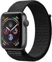 купить Apple Watch Series 4 40mm Case Space Grey Aluminium Sport Loop Black в Барнауле и Горно-Алтайске