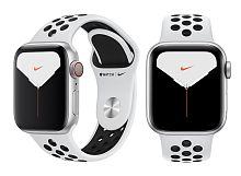 купить Apple Watch Series 5 40mm Case Silver Aluminium Nike Sport Band Pure Platinum/Black в Барнауле и Горно-Алтайске